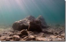 Felsengruppe beim Einstieg