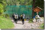 Michael und Dieter am Weg zum Grünen See