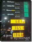 Spritpreise in Italien