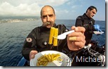 Uwe präsentiert die Pasta