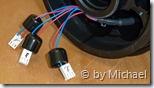 Sensorstecker mit Schutzkappen