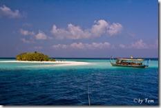 Malediven Insel